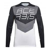 ACERBIS maglia mx track acerbis nero/grigio