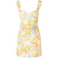 Rebecca Vallance abito corto ottoman - multicolore