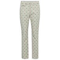 Paco Rabanne pantaloni in jacquard floreale
