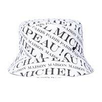 Maison Michel cappello da pescatore axel in cotone