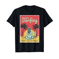 Sun and surf Co. surfista femminile cloud nine, siargao island, philippines maglietta