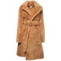 BOTTEGA VENETA cappotto teddy in shearling