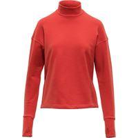 Aztech Mountain maglione a collo alto kristi's - rosso