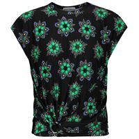 Paco Rabanne t-shirt a stampa floreale in jersey stretch