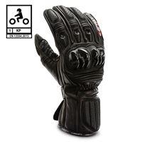 BEFAST guanti moto pelle racing befast tronic certificati ce nero