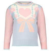 LOVESHACKFANCY pullover emani a intarsio in misto cotone