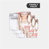 Carrera slip bipack basic family pack