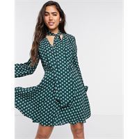 Ted Baker - dolley - vestito verde-rosso