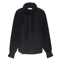 Equipment camicia con fiocco loudette - nero