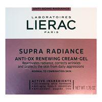 Lierac linea supra radiance gel-crema giorno anti-ox anti-età rimpolpante 50 ml
