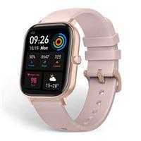 Amazfit gts smartwatch orologio intelligente fitness impermeabile 5 atm durata batteria fino a 14 giorni con gps, 12 modalità sportive, display del quadrante in vetro 3d contapassi per sport