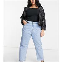 Levi's Plus - 501 - jeans corti lavaggio blu chiaro