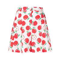 Boutique Moschino shorts con stampa - bianco