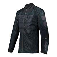 Leatt giacca enduro 4.5 x-flow nero