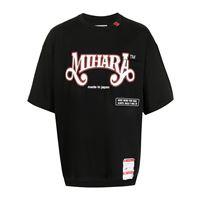 Maison Mihara Yasuhiro t-shirt con stampa - nero