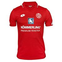Lotto mz19 home jr jrs, t-shirt ragazzo, flame red, s