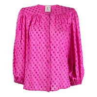 L'Autre Chose blusa con decorazione - rosa