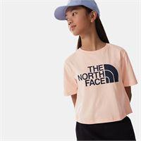 TheNorthFace the north face easy t-shirt corta in vita bambina pearl blush taglia m donna