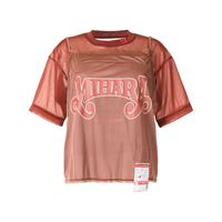 Maison Mihara Yasuhiro t-shirt con stampa - marrone