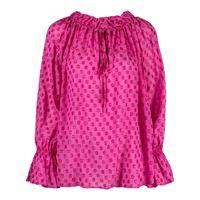 L'Autre Chose blusa a pois - rosa