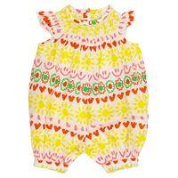 Stella McCartney Kids baby - pagliaccetto a stampa in cotone