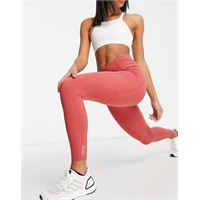 Lorna Jane - no ride - leggings alla caviglia con supporto sui glutei, colore rosa-marrone