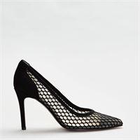 Perego Shoes chanel dettaglio rete - nero