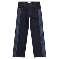FENDI Kids jeans con logo