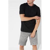 Tezenis t-shirt basic ampia in cotone uomo nero