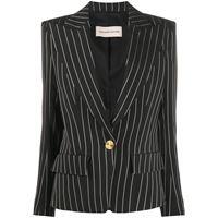 ALEXANDRE VAUTHIER giacca con scollo profondo a v donna