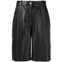 Loulou Studio shorts kiltan - nero