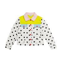 The Marc Jacobs giacca di jeans a pois