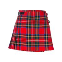 Christopher Kane royal stewart tartan mini kilt - rosso