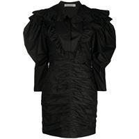 Philosophy Di Lorenzo Serafini vestito con ruches - nero