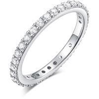 Melitea anello donna gioielli Melitea punti luce ma120.11