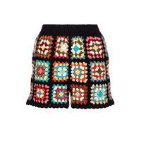 ALANUI shorts western granny in cotone crochet