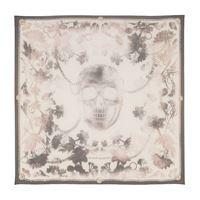 Alexander McQueen foulard a stampa in seta
