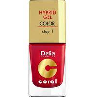 Delia smalto gel per unghie - Delia cosmetics coral nail hybrid gel 05 - pink powder