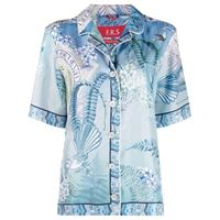 F.R.S For Restless Sleepers camicia con stampa - blu