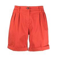 Fay shorts a gamba ampia - rosso