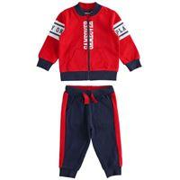 Bambino layette 18 mesi | 7anni tuta jogging due pezzi art. 11721 rosso | per bambino sarabanda autunno inverno |abbigliamento autunnale | invernale