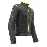 ACERBIS giacca ce ramsey vented nero giallo fluo - ACERBIS
