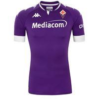 Kappa fiorentina jr kombat pro home shirt 2021 maglia acf 20/21 ragazzo