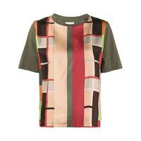 Pierre-Louis Mascia t-shirt con design color-block - verde