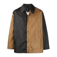 Mackintosh giacca con design color-block - nero
