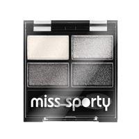 Miss Sporty ombretto 4 colori - Miss Sporty studio colour quattro eye shadow 404 - smoky real