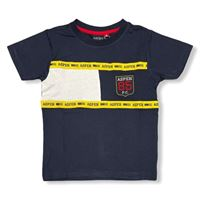Aspen polo club - t-shirt mezza manica bambino