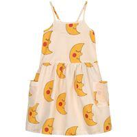nadadelazos - moons vestito beige - bambina - 6 anni - beige