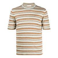 Altea t-shirt a righe - marrone
