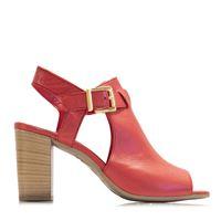 Mitarotonda sandalo open toe in nappa